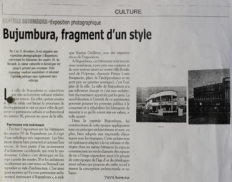 Zeitungsartikel_Bujumbura